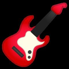 Guitar google emoji