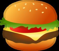 Hamburger google emoji