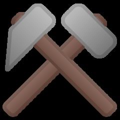 Hammer And Pick google emoji