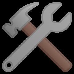 Hammer And Wrench google emoji