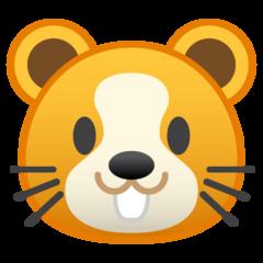 Hamster Face google emoji