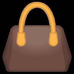 Handbag google emoji