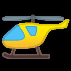 Helicopter google emoji