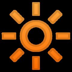 High Brightness Symbol google emoji