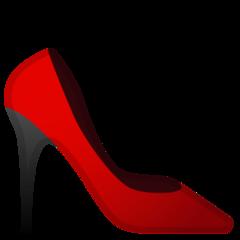 High-heeled Shoe google emoji