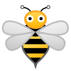 Honeybee google emoji