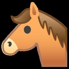 Horse Face google emoji
