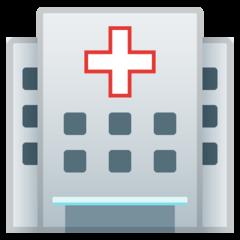 Hospital google emoji