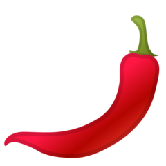 Hot Pepper google emoji