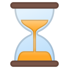 Hourglass With Flowing Sand google emoji