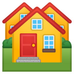 House Buildings google emoji