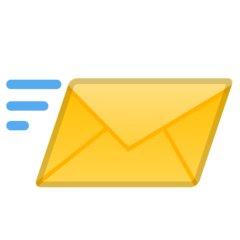 Incoming Envelope google emoji