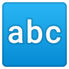 Input Symbol For Latin Letters google emoji
