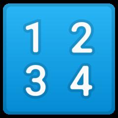 Input Symbol For Numbers google emoji