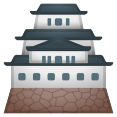 Japanese Castle google emoji