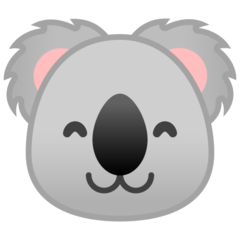 Koala google emoji