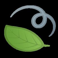 Leaf Fluttering In Wind google emoji