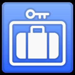 Left Luggage google emoji