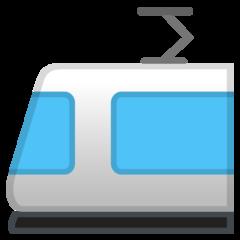 Light Rail google emoji