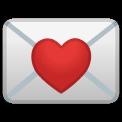 Love Letter google emoji