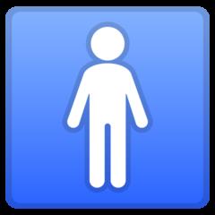 Mens Symbol google emoji