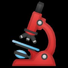 Microscope google emoji