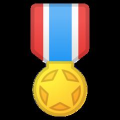 Military Medal google emoji