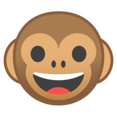 Monkey Face google emoji