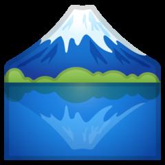 Mount Fuji google emoji