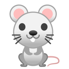 Mouse google emoji