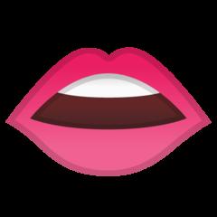 Mouth google emoji