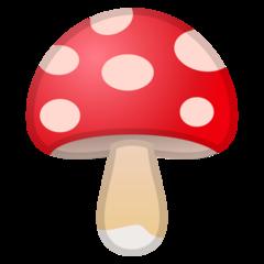 Mushroom google emoji