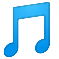 Musical Note google emoji