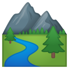 National Park google emoji