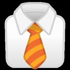 Necktie google emoji