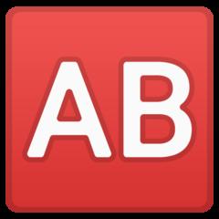 Negative Squared Ab google emoji