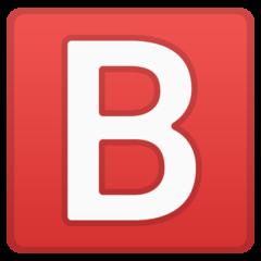 Negative Squared Latin Capital Letter B google emoji