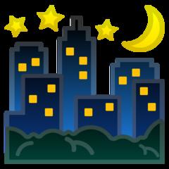 Night With Stars google emoji