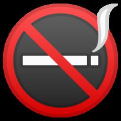 No Smoking Symbol google emoji