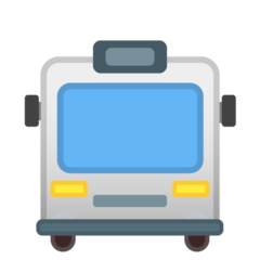 Oncoming Bus google emoji