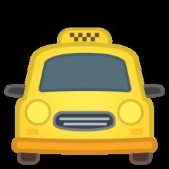 Oncoming Taxi google emoji