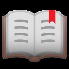 Open Book google emoji