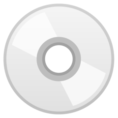 Optical Disc google emoji