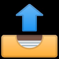 Outbox Tray google emoji
