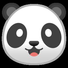 Panda Face google emoji
