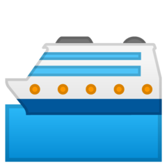 Passenger Ship google emoji