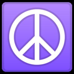 Peace Symbol google emoji