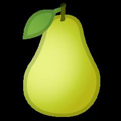 Pear google emoji