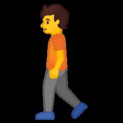 Pedestrian google emoji