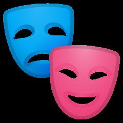 Performing Arts google emoji